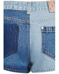 RED Valentino Denim Shorts - Blue