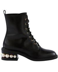 Nicholas Kirkwood Casati Ankle Boots - Black
