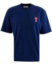 AMI De Caur T-shirt - Blue