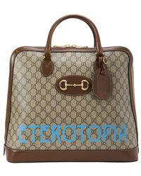 Gucci Ophidia Messenger Bag Small Model - Multicolour