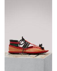 Carven Berri Open-toe Sandals - Black