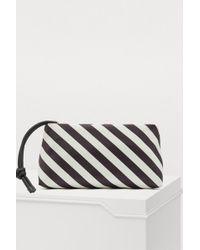 Dries Van Noten - Striped Clutch - Lyst