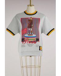 Prada - Printed Sweatshirt - Lyst