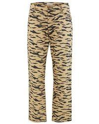 Rejina Pyo Sofia Cotton Jeans - Natural