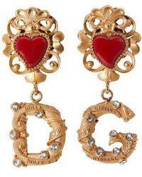 Dolce & Gabbana Dg Earrings - Metallic