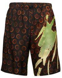 Dries Van Noten Piperi Shorts - Multicolour