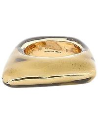 Marni Light Metal Ring - Metallic