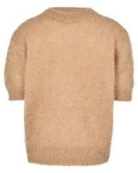 Anine Bing Corey Sweater - Natural