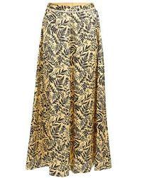 Forte Forte Floral Print Skirt - Multicolour