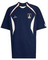 Balenciaga Soccer Team Heavy Jersey - Blue
