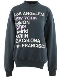 Anine Bing City Love Sweatshirt - Multicolor