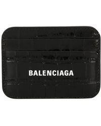 Balenciaga Porte cartes - Noir