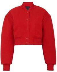 Givenchy Varsity Jacket - Red