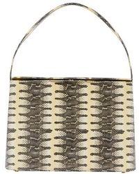Rejina Pyo Felix Leather Handbag - Metallic