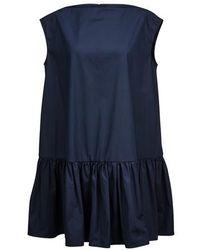 Mansur Gavriel Mini Dress - Blue