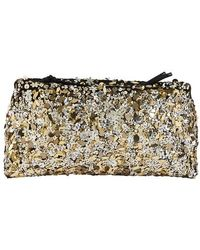 Dries Van Noten Sequinned Shoulder Bag - Black