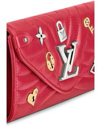 Louis Vuitton New Wave Long Wallet - Red