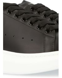Alexander McQueen Oversized Sneakers - Black