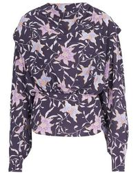 Étoile Isabel Marant Oxel Blouse - Purple