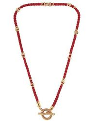 Gas Bijoux Marquise Necklace - Red