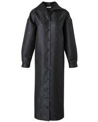 Balenciaga - Kaftan-style Maxi Dress - Lyst