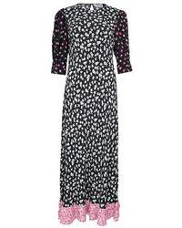 RIXO London Jessie Dress - Black