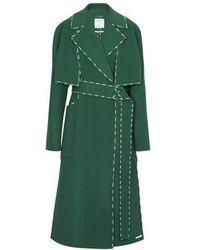 Sportmax Long And Short Coat - Anniversary Collection - Green