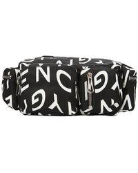 Givenchy Logo Allover Belt Bag - Black