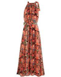 Chufy Wayta Long Dress - Red