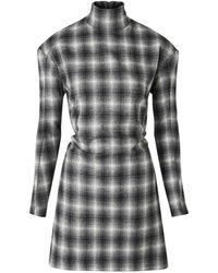 Nina Ricci Long Sleeved Dress - Black