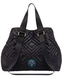 Alberta Ferretti Track Bag - Black