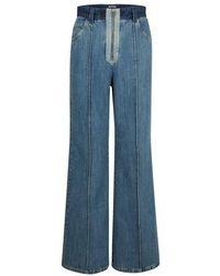 Miu Miu High-waisted Jeans - Blue
