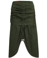 Thebe Magugu Skirt With Studs - Green