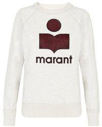 Étoile Isabel Marant Milly Sweatshirt - White