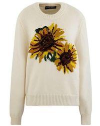 Dolce & Gabbana Sunflower Jumper - Multicolour