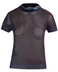 Prada Short-sleeved T-shirt - Black