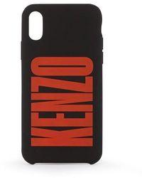 KENZO Logo Phone Case - Black