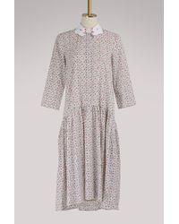 Vivetta - Mirfak Cotton Dress - Lyst