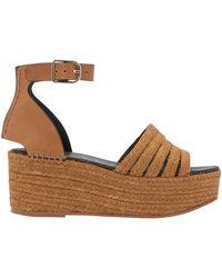 Loewe Rope Sandals - Brown