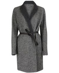 Loro Piana Alpaca wool coat - Grau