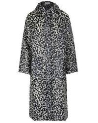 Proenza Schouler Long Waterproof Coat - Black