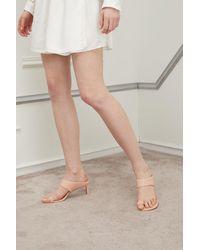 Zimmermann Leather Sandals - Natural