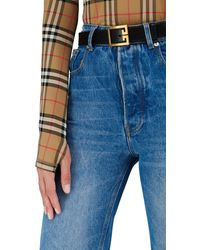 Burberry Long Sleeve T-shirt - Multicolour