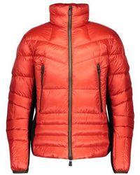 3 MONCLER GRENOBLE Grenoble Canmore Down Jacket - Orange