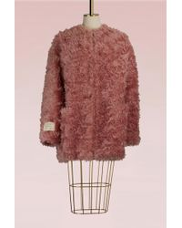 Stella McCartney - Elina Mohair Coat - Lyst