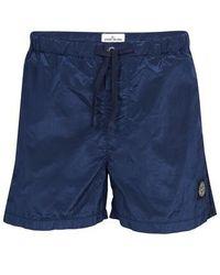 Stone Island Swim Shorts - Blue
