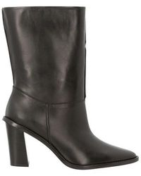 KENZO K-line High Heeled Mid Boots - Black