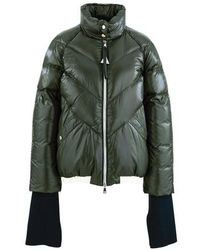 Moncler Genius 2 Valextra - Yalou Winter Coat - Green