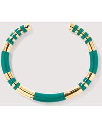 Aurelie Bidermann - Positano Emerald Bracelet - Lyst