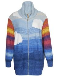 Stella McCartney Cowichan Kind Jacket - Blue